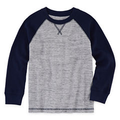 Arizona Long Sleeve Raglan Thermal Top - Preschool Boys