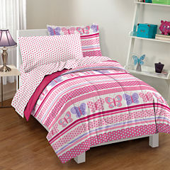 Butterfly Dots Comforter Set