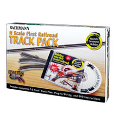 Bachmann Trains - World's Greatest Hobby Track Pack, N Scale