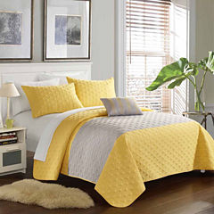 Chic Home Dominic 4-pc. Quilt Set