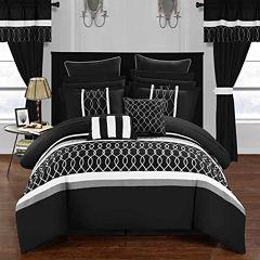 Chic Home Dinah 24-pc. Midweight Comforter Set