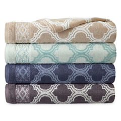 Royal Velvet Venice Jacquard Bath Towels