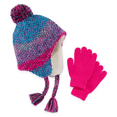 Capelli of N.Y. 2-pc. Cold Weather Set-Big Kid Girls