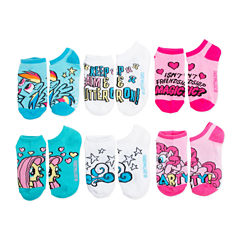 My Little Pony 5-pk. No-Show Socks - Girls