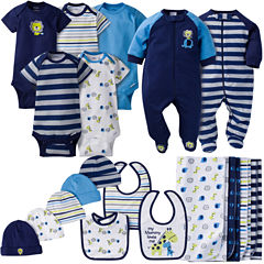 Gerber® 19 Piece Boy Jungle Layette Gift Set