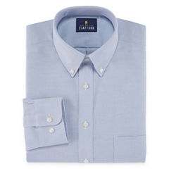 Stafford Travel Wrinkle-Free Stretch Oxford Long-Sleeve Dress Shirt