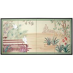 Oriental Furniture Lush Garden Wall Sculpture
