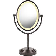 Conair® Oval Oiled Bronze Mirror