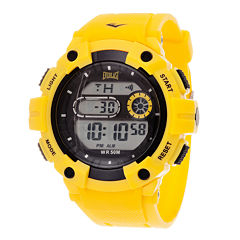 Everlast Yellow Digital Watch