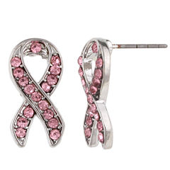 Mixit Pink Stud Earrings