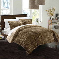 Chic Home Alligator 7-pc. Midweight Reversible Comforter Set