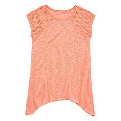 Arizona Crochet Tunic Top - Girls' 7-16 and Plus