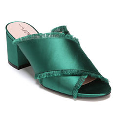 Libby Edelman Spencer Womens Mules