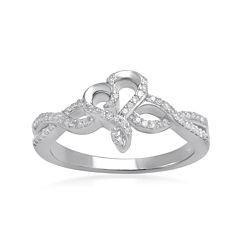 Hallmark Diamonds 1/5 CT. T.W. Diamond Sterling Silver Ring