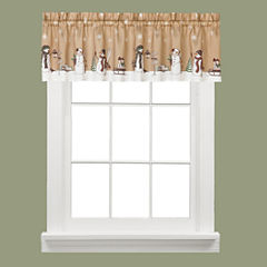 Aspen Snow Rod-Pocket Valance