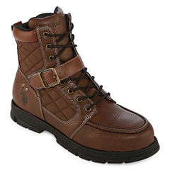 Us Polo Assn. Braydon Mens Lace Up Boots