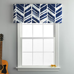Frank And Lulu Shane Rod-Pocket Tailored Valance