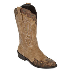 Just Dolce By Mojo Moxy Quarry Cowboy Boots