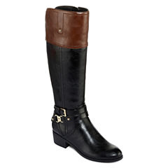 Liz Claiborne Tory Womens Riding Boots