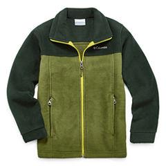 Columbia Green Fleece- Boys Big Kid