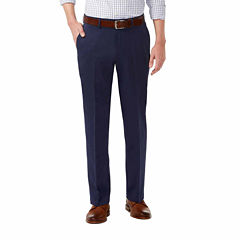 Haggar Standard Straight Fit Flat Front Pant