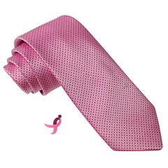 Susan G Komen Pin Dot Tie
