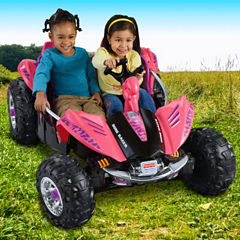 Power-Wheels Camo Dune Racer Pink