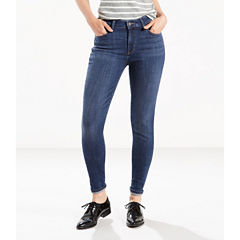 Levi's® Mid Rise Skinny Jeans