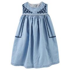 OshkoshSleeveless A-Line Dress - Toddler Girls