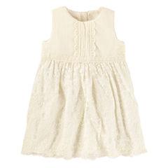 Oshkosh Sleeveless A-Line Dress - Toddler Girls