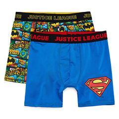 Justice Leage 2 PK License  Boxer Briefs - Big Boy