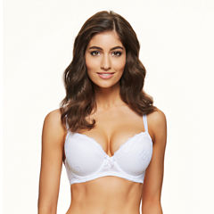 Perfects Louisa Underwire Plunge Demi Bra-9341263007018