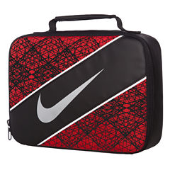 Nike® CLASSIC Red/Black Lunch Box