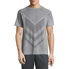 Xersion Seamless Short Sleeve Crew Neck T-Shirt