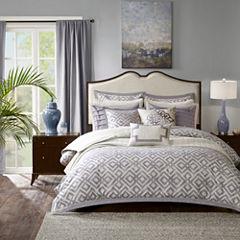 Madison Park Signature Stein Jacquard Comforter Set