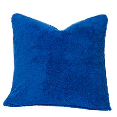 Crayola Playful Plush Blue Berry Blue Throw Pillow