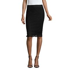 Liz Claiborne Lace Flared Skirt