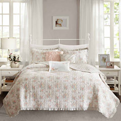 Madison Park Harmony Floral Coverlet Set