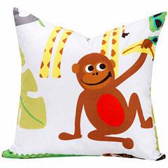 Crayola Jungle Love Throw Pillow