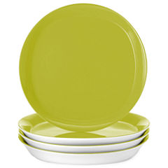 Rachael Ray® Round & Square Set of 4 Dinner Plates