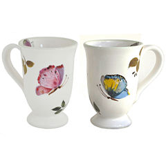 Abbiamo Tutto Butterfly Set of 2 Mugs