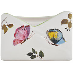 Abbiamo Tutto Butterfly Ceramic Napkin Holder