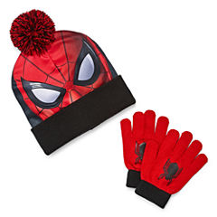 2-pc. Spiderman Hat & Glove Set-Preschool Boys