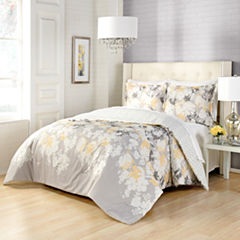 Marble Hill Garden Party 3-pc. Floral Midweight Reversible Comforter Set