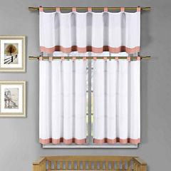 Duck River Tatum 3-pc. Kitchen Curtain Set