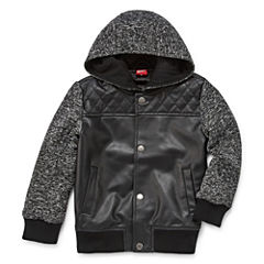 Arizona Boys Midweight Motorcycle Jacket-Preschool