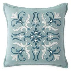 Eva Longoria Home Esme Square Throw Pillow
