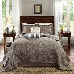Madison Park Whitman 5-pc. Bedspread Set