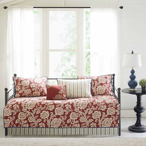 Madison Park Georgia 6-pc. Floral Daybed Cover Set