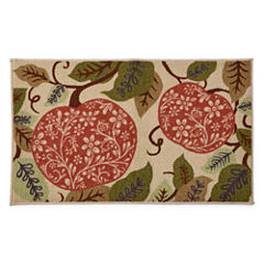 JCPenney Home™ Pumpkin Rectangular Rug
